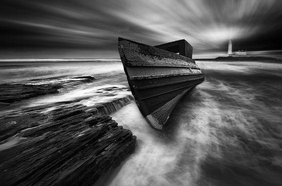 """Lighthouse....."" by Dave Henderson, via 500px."