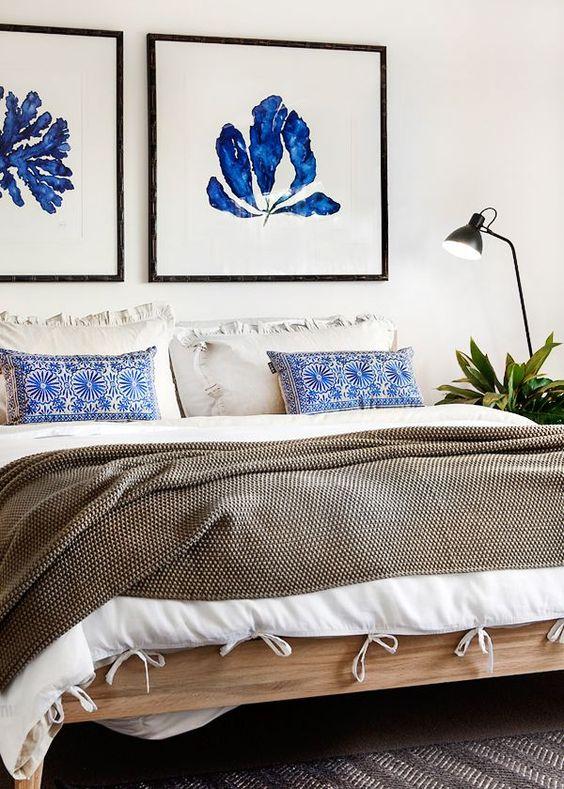Natural textures and Indigo blue in Cottlesloe -Design Hunter