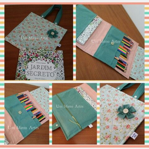 Capa para livro Jardim Secreto / Floresta Encantada Facebook: Um Mimo Artes