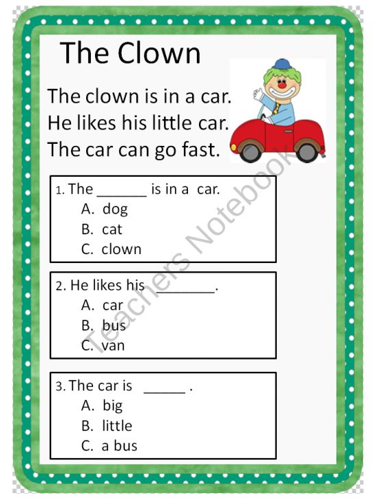 Printables. Questions For Kindergarten. Gozoneguide Thousands of ...
