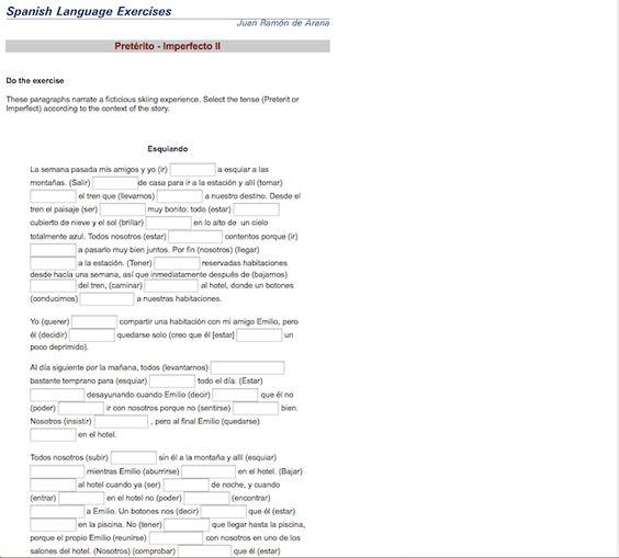 ser vs estar worksheet - Google Search | Preterito/imperfecto ...