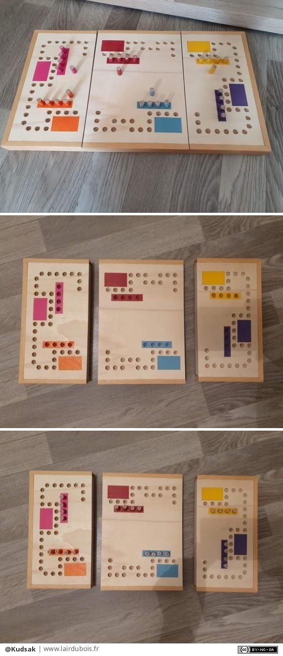 Le jeu de tic-tac-toe en bois | Atelier-D | | Simons