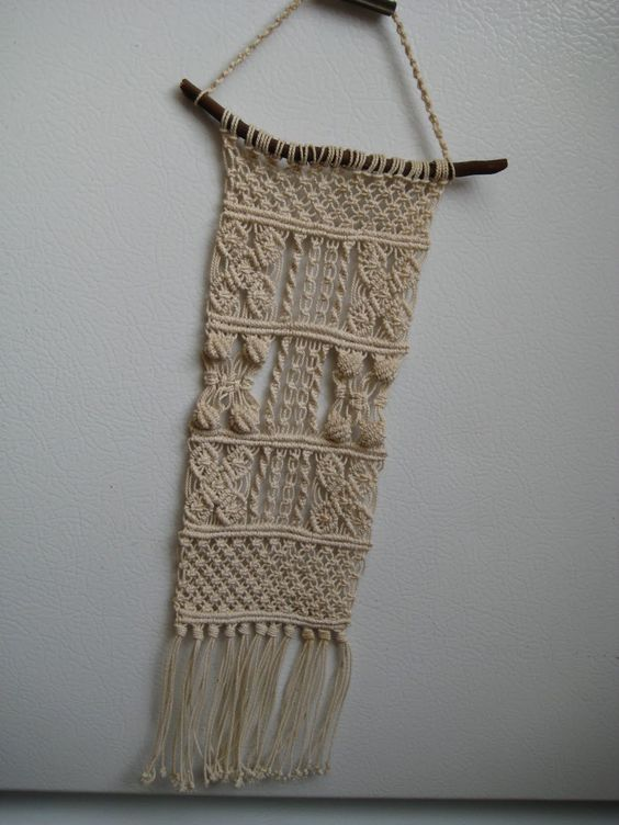 LoveTheSeventies: Macrame - It Hung On the Wall!