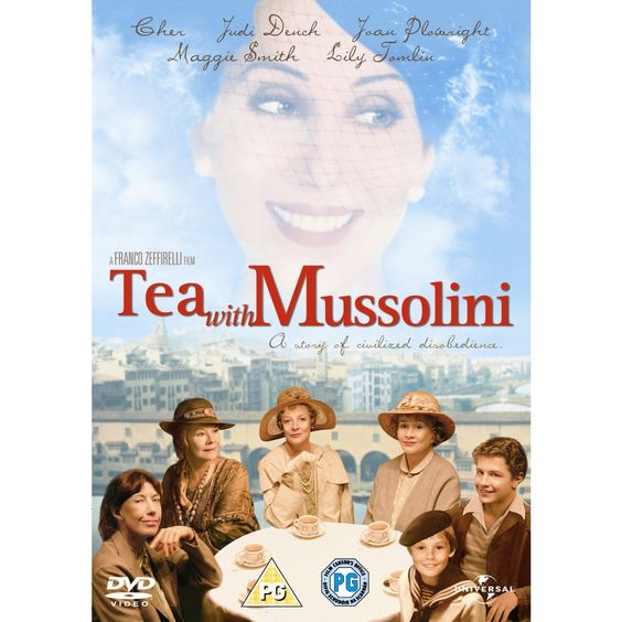 Tea With Mussolini. Interesting