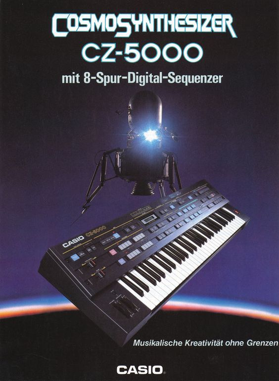 CASIO CZ-5000 Anzeige 1985