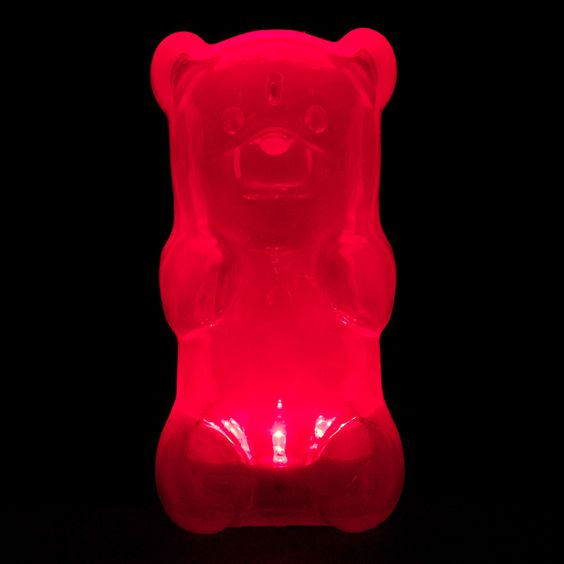 Can't resist!  Fab.com | GummyGoods Nightlight Red