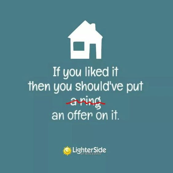 If you liked it, then you should've put an offer on it...... #thisgirlsellshouses #realestate