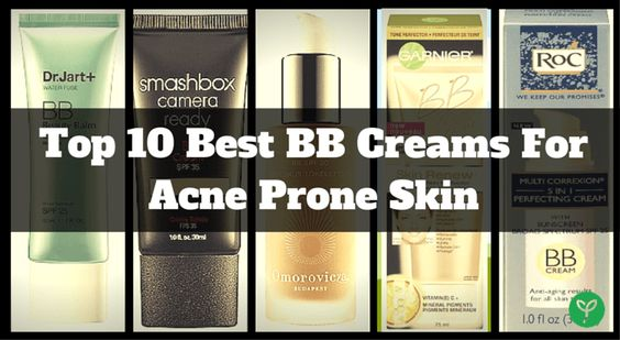 Top 10 Best BB Creams For Acne Prone Skin