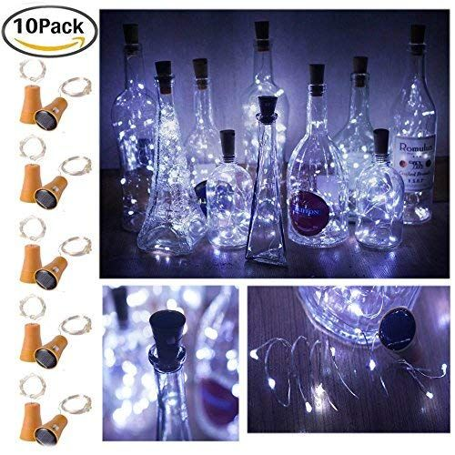 Vintage inspired Christmas shipping included bottle light Wine bottle led light wine bottle candle lights