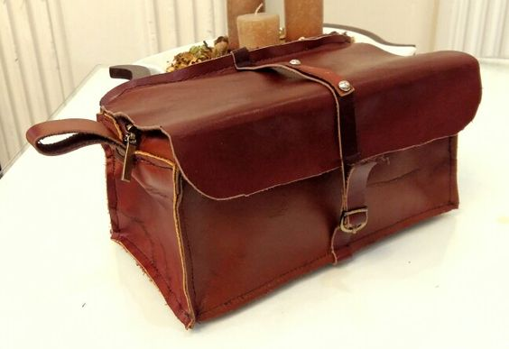 Leather toolbag craft