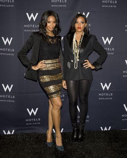 Angela And Vanessa Simmons