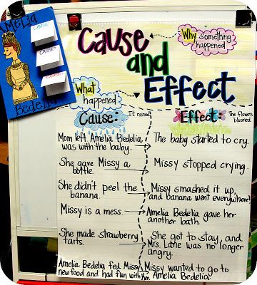 Into 2nd grade with mrs lemons amelia bedelia and cause amp effect