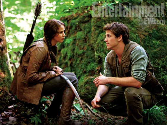 Are y'all ready for this? The first #HungerGames movie debuts in 2012, with Jennifer Lawrence as Katniss and Liam Hemsworth as Gale.