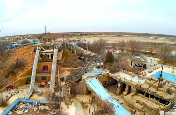 Abandoned Hero's Water World in Odessa, Texas   16 Of The Creepiest Places In Texas That'll Forever Haunt Your Dreams