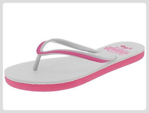 Boombuz Lilli basic naked 110-1-001, Damen Zehentrenner, Pink (magenta), EU 41