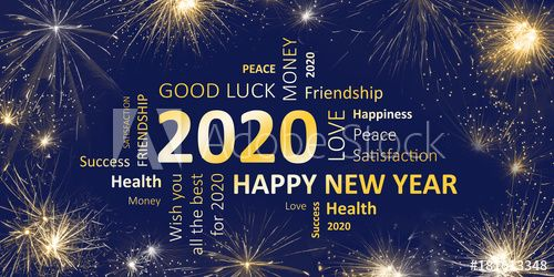 Happy New Year 2020 Happy New Year Greetings Happy New Year Message Happy New Year Wallpaper