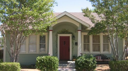 Front Door Colors For Light Green House | Small Houses In Salado Texas |  For The Home | Pinterest | Texas, Smallest House And House