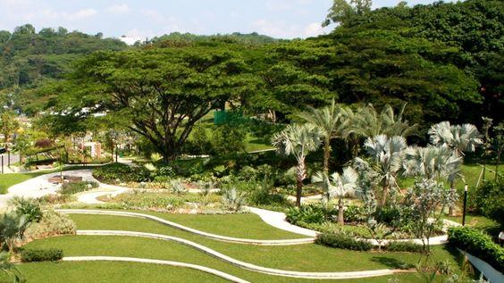 Công viên có diện tích rộng 23 hecta