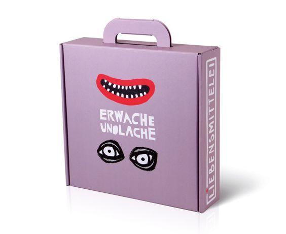 Liebensmittelei Geschenkboxen – Kategorie Verpackungsdesign: Gold