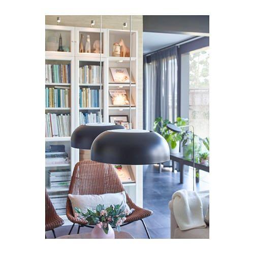 Nymane Anthracite Pendant Lamp Ikea Pendant Lamp Rooms Home Decor Furniture