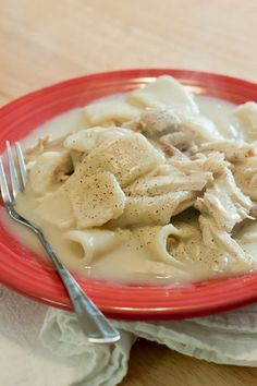 Southern-Style Chicken and Dumplings use baking powder not soda