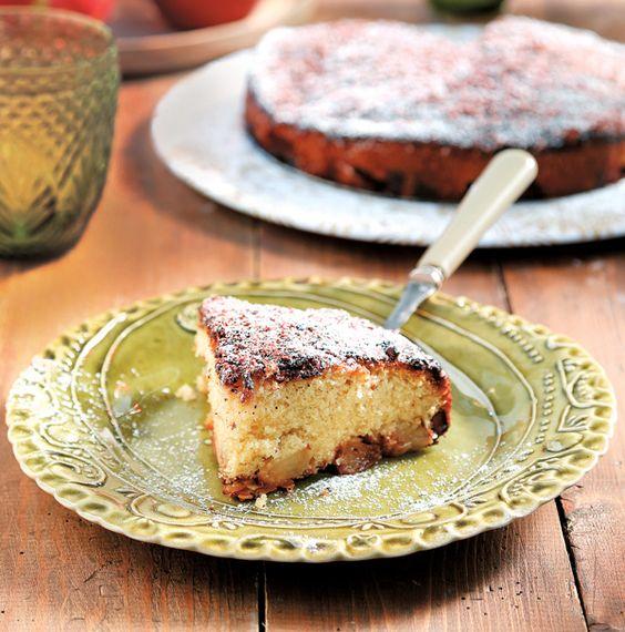 Κέικ με καραμελωμένα μήλα και σοκολάτα γάλακτος | olivemagazine.gr | Bloglovin':