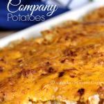 Company Potatoes!  Just 5 minutes of prep!!