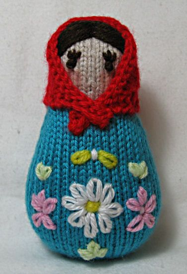 Knitting Pattern Russian Doll : Free pattern found on Ravelry here- www.ravelry.com ...