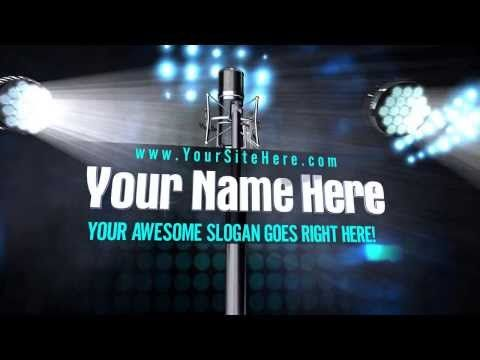 7 best VIDEO INTRO images on Pinterest | A video, Channel and It\'s ...