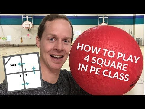 An Overview Of The Rules And Some Common Variations Used When Playing Four Square Teaching Tips And Pe Class Physical Education Elementary Physical Education