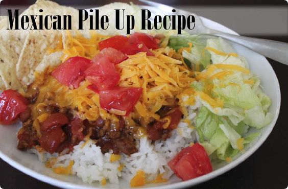 Mexican Pile Up Recipe