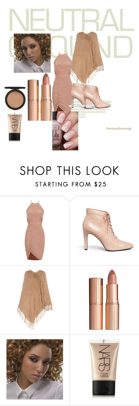 """""""Untitled #6"""" by kadzorr ❤ liked on Polyvore featuring Opening Ceremony, BCBGMAXAZRIA, Charlotte Tilbury, NARS Cosmetics and Topshop"""