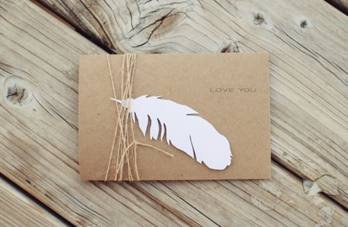 lovely packaging.: Feather Tags, Paper Craft, Paper Feathers, Gift Wrapping, Cards W Feathers, Gift Tags, Cards Wrapping Tagging, Crafty Ideas