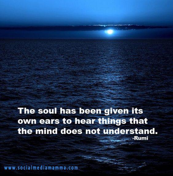 #inspiring #quotes #Inspiration Rumi http://www.socialmediamamma.com:
