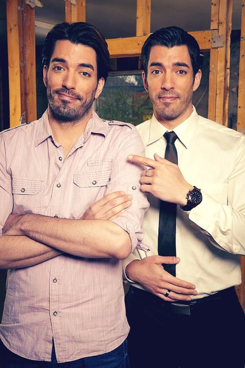 Jonathan & Drew Scott. I kinda just realized how adorable these two are.