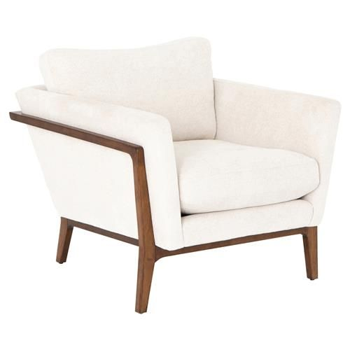 Wood Arm Chair Armchair Accent Chairs, Occasional Chairs With Wood Arms