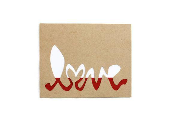 LOVE Wall Art 8x10 by JerseysFreshest on Etsy, $20.00