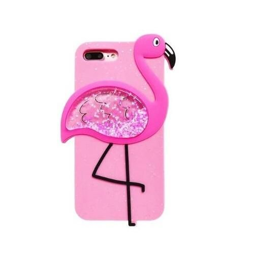 coque iphone 6 silicone flamant rose