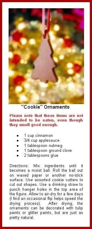 Gingerbread party non Edible Cinnamon Ornaments                                                                                                                                                                                 More