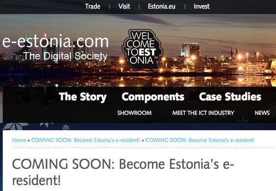 a bold move by Estonia