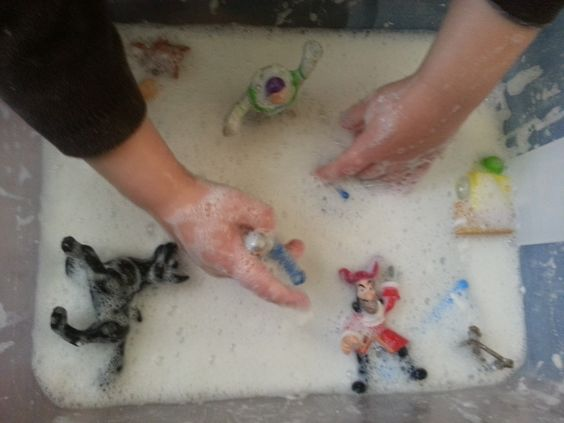 Sensory Play with Ivory soap-- a ton of fun!!! Children At Play