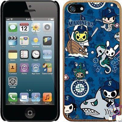 $28.00: Seattle Mariners iPhone 5-5S Madera Thinshield Case (Tokidoki Pattern Design)