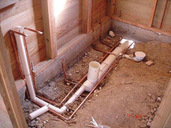 Como Hacer La Instalacion Sanitaria De Un Baño Buscar Con Google Instalaciones Sanitarias Planos De Baños Instalacion De Agua