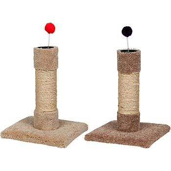 petco sisal carpet cat scratch post with toy 18 home kitten pinterest carpets cats. Black Bedroom Furniture Sets. Home Design Ideas