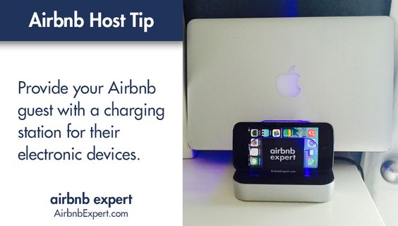 Everyone has a mobile device these days. Make it easy for your Airbnb guest to stay connected.  #Airbnb #LifesBetterWithAirbnb #AirbnbExpert