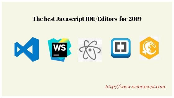 Javascript Ide Top 5 Best List You Have To Take A Look Frontend Developer Javascript Web Design Tips