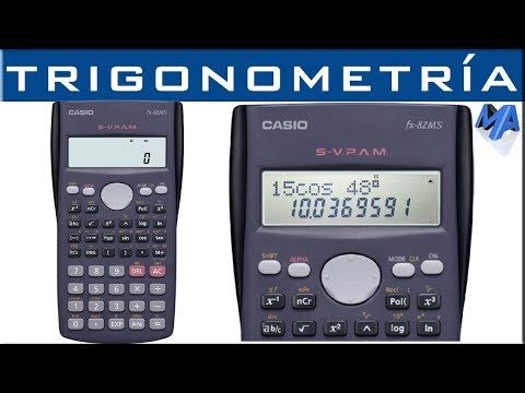 Trigonometría Uso Correcto De La Calculadora Fx 82 95 570 Ms Y Similares Youtube Notacion Cientifica Calculadoras Cientificas Calculadora