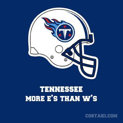 New Team Slogan: TENNESSEE TITANS | Sports Humor | Pinterest ...