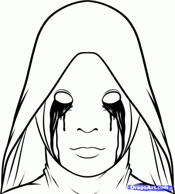 coloring pages from horror movies - photo#8
