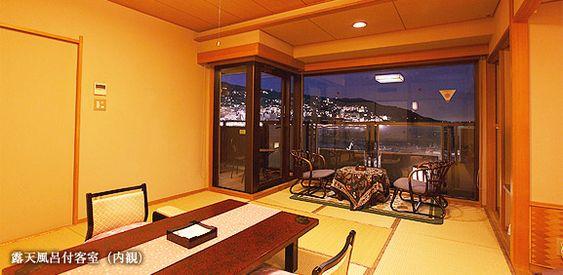 Rooms-Rooms with open-air baths, etc.   Shukaen Yunohanazen [Official]